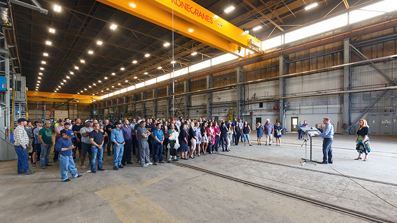 Startec's Everyday Mavericks Team Up in New Shepard Shop Facility