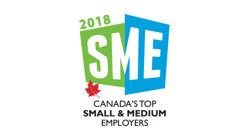 Startec selected as one of Canada's Top Small & Medium Employers